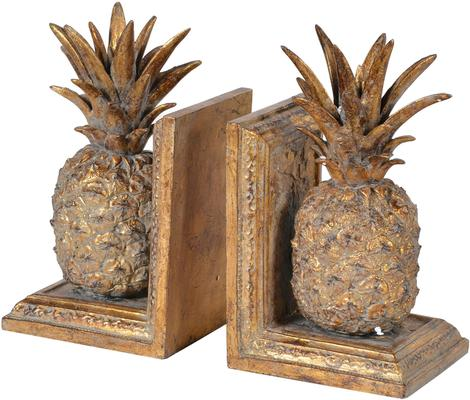 Two Pineapple Bookends