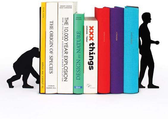 Evolution Book Ends - Black