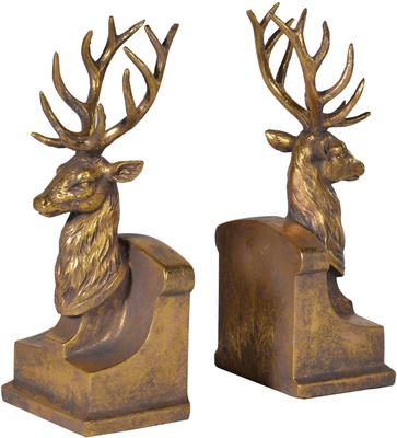 Pair of Stags Bookends