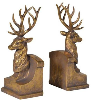 Pair of Stags Bookends image 2
