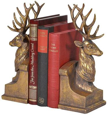 Pair of Stags Bookends image 3