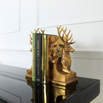 Pair of Stags Bookends image 4