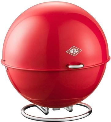 Wesco Superball Bread Bin - Red