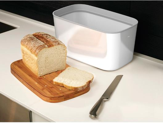 Joseph Joseph Steel Bread Bin - White image 2