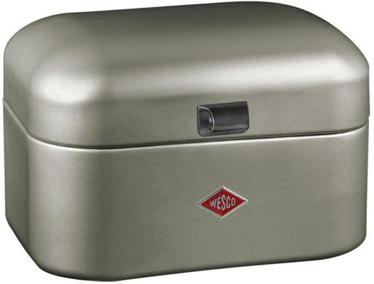 Wesco Single Grandy Bread Bin - New Silver