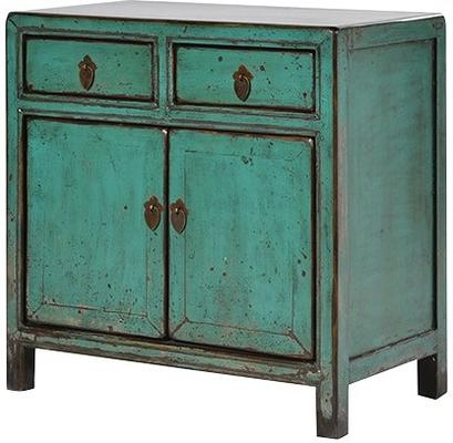 Shabby Cupboard in Turquoise