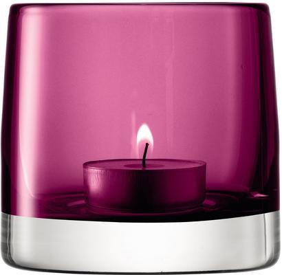 LSA Light Colour Tealight Holder - Heather [D]