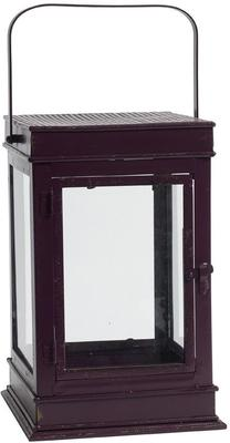 Iron Lantern Distressed Design with Glass image 3