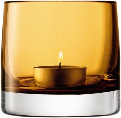 LSA Light Colour Tealight Holder - Amber