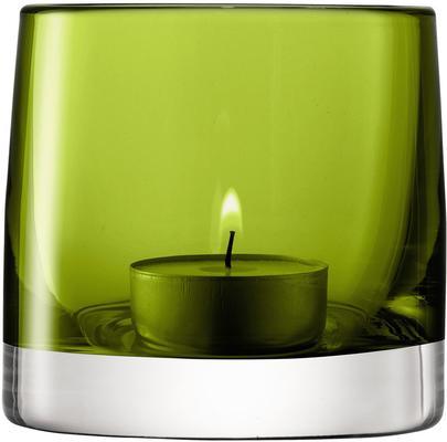 LSA Light Colour Tealight Holder - Olive