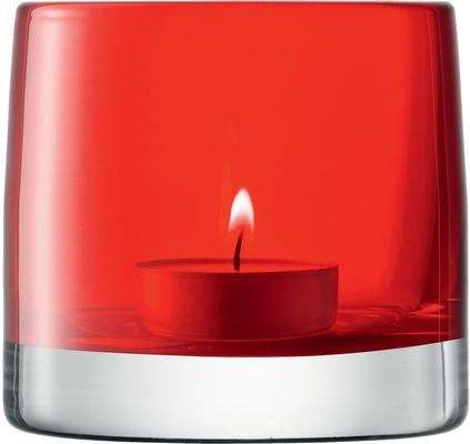 LSA Light Colour Tealight Holder - Red