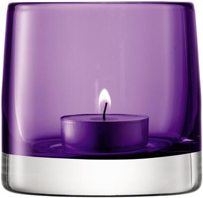 LSA Light Colour Tealight Holder - Violet