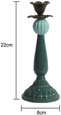 Glass Ball Candlestick image 3