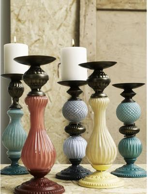 Two Tone Candlesticks image 5