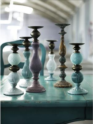 Two Tone Candlesticks image 4