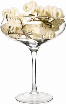 Midi Glass Champagne Saucer/Candle Holder Grace