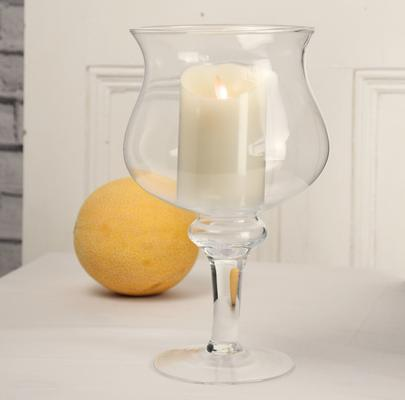 Footed Candle Holder 29cm