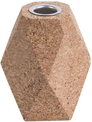 Present Time Hexagon Cork Candle Holders - Set of 3 [D] image 3