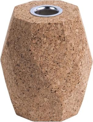 Present Time Hexagon Cork Candle Holders - Set of 3 [D] image 4
