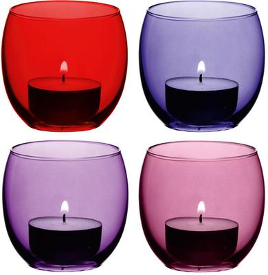 LSA Coro Tealight Holders - Berry