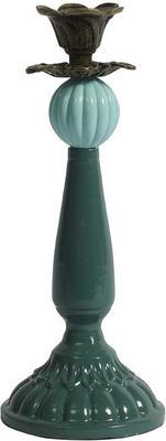 Glass Ball Candlestick