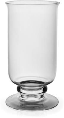 Footed Glass Hurricane Holder 25/12cm image 2