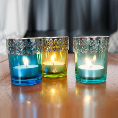 Present Time Moroccan Tea Light Set image 2