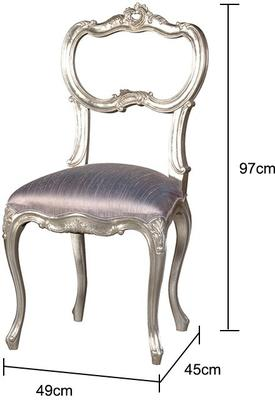 French Silk Chair image 2