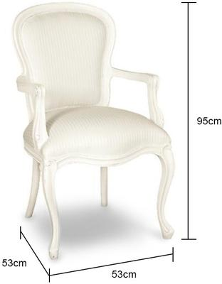 French Chateau Chair Shabby Chic image 2