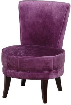 Velvet Bedroom Chair