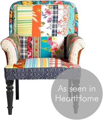 Patchwork Multicoloured Armchair