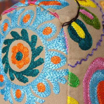 Embroidered Fabric Chair image 3
