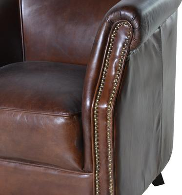 Vintage Leather Club Chair image 2