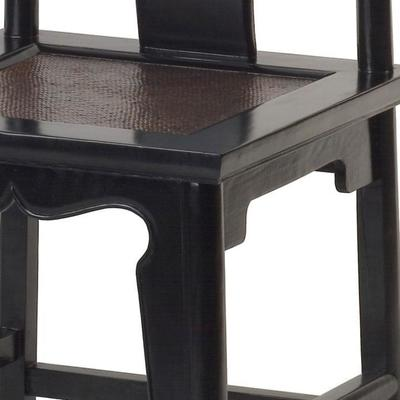 Yoke Back Side Chair - black lacquer image 5