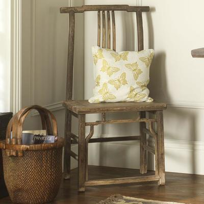 Pair of Antique Yoke Back Chairs image 2