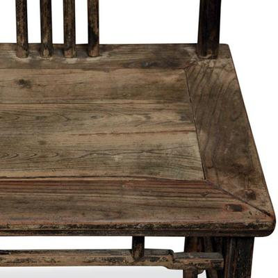 Pair of Antique Yoke Back Chairs image 3