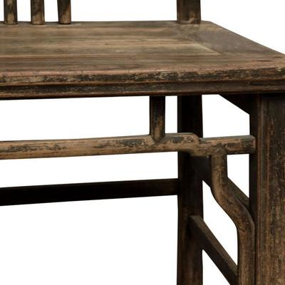 Pair of Antique Yoke Back Chairs image 5
