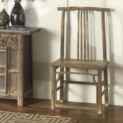 Pair of Antique Yoke Back Chairs image 7