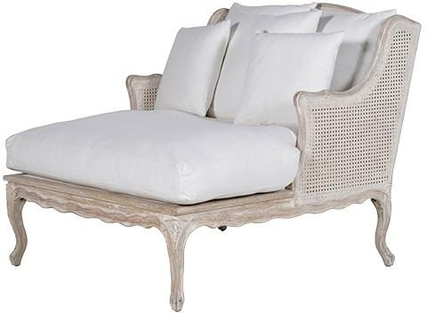 Rattan Back Lounge Chair image 2