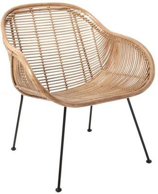Rattan Scoop Armchair image 2