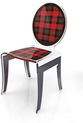 Acrylic Louis Chair Glossy French Quirky Design image 12
