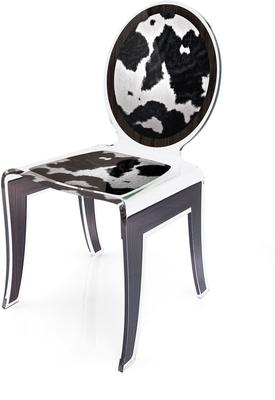 Acrylic Louis Chair Glossy French Quirky Design image 13