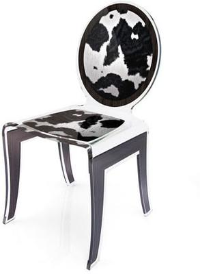 Acrylic Louis Chair Glossy French Quirky Design image 14