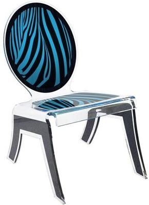Acrylic Louis Relax Chair Quirky Design image 2