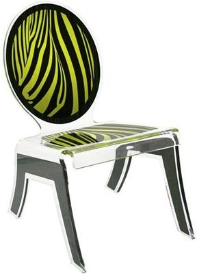 Acrylic Louis Relax Chair Quirky Design image 4