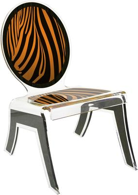 Acrylic Louis Relax Chair Quirky Design image 5