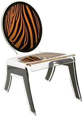 Acrylic Louis Relax Chair Quirky Design image 6