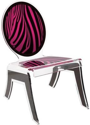 Acrylic Louis Relax Chair Quirky Design image 8
