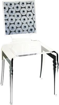 Square Picture Chair Acrylic French Style image 3