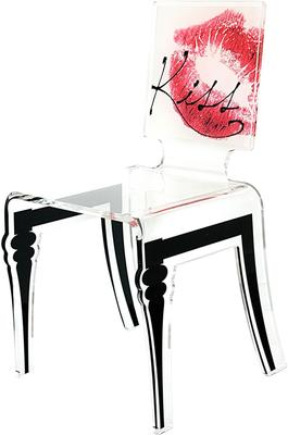 Square Picture Chair Acrylic French Style image 5